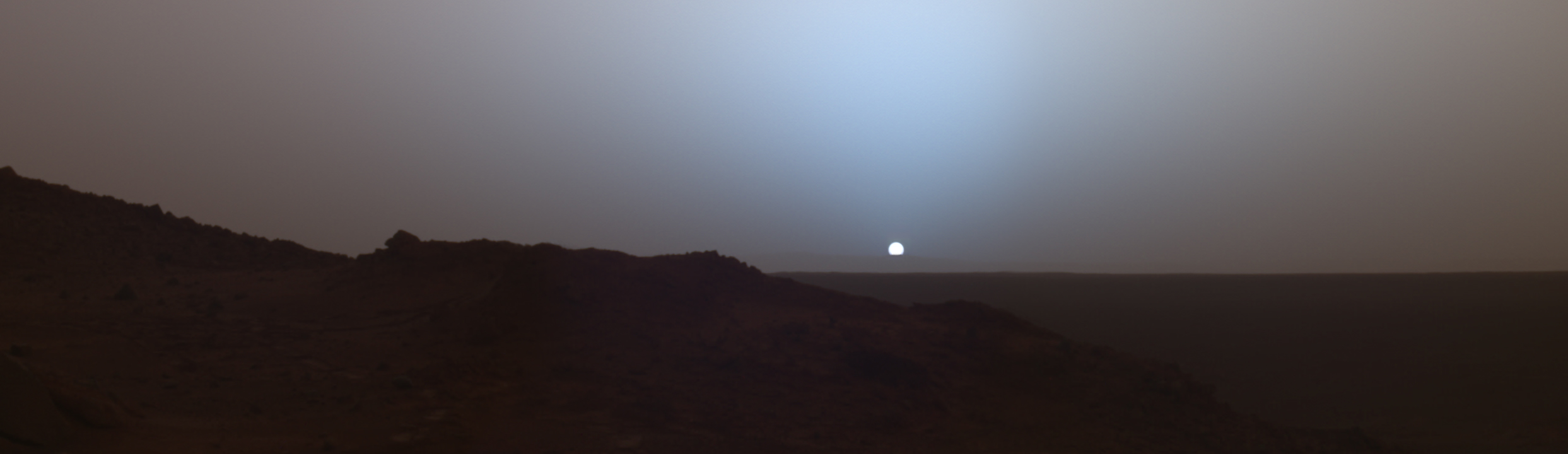 Закат Солнца на Марсе | NASA