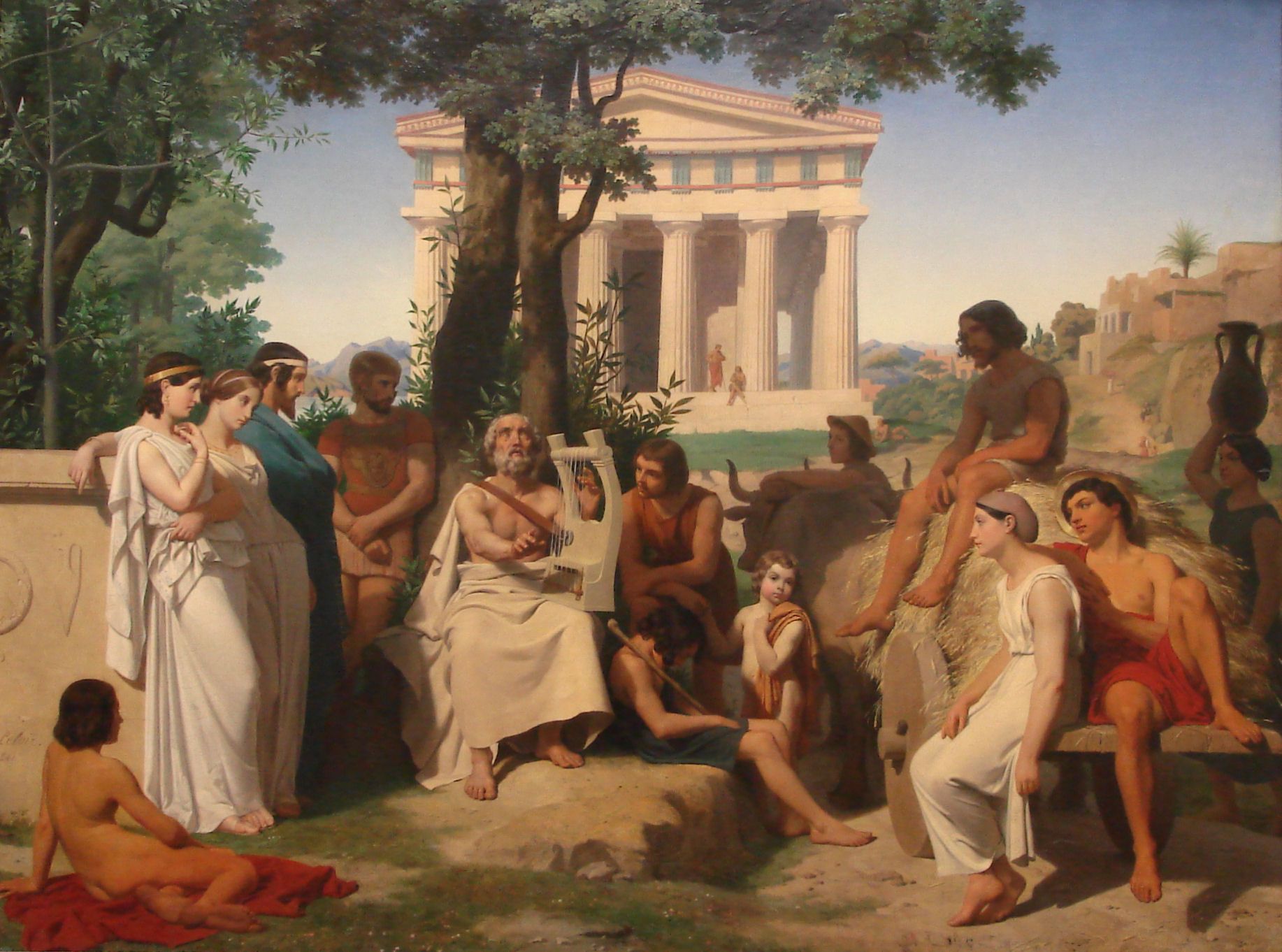an analysis of the theme of religion in ancient greece The ancient greek language includes the forms of greek used in ancient greece and the ancient world from around the 9th century bce to the 6th century ce.