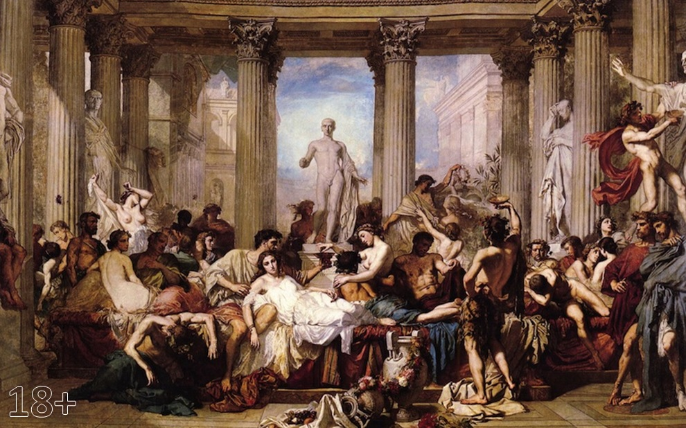 Ancient roman orgy gay straight
