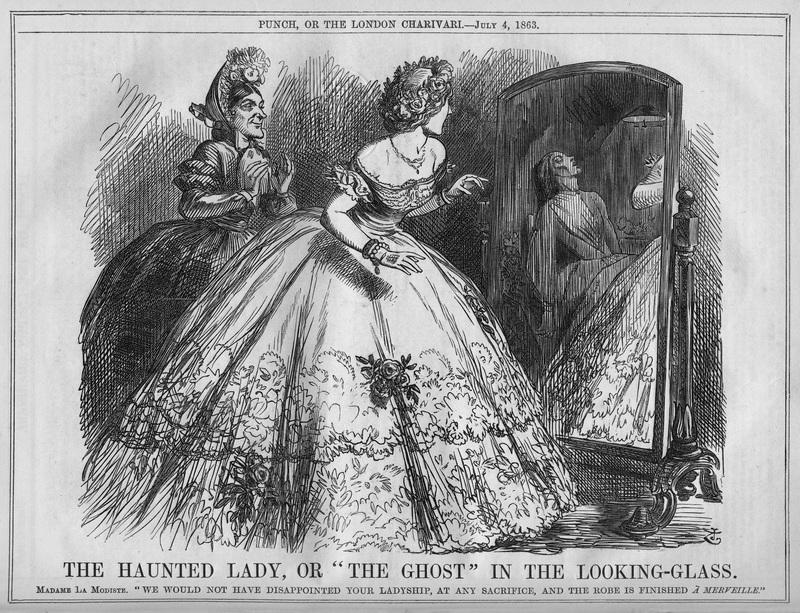 Модница видит в отражении замученную до смерти швею, которая шила её платье | http://assets.atlasobscura.com/article_images/21203/image.jpg