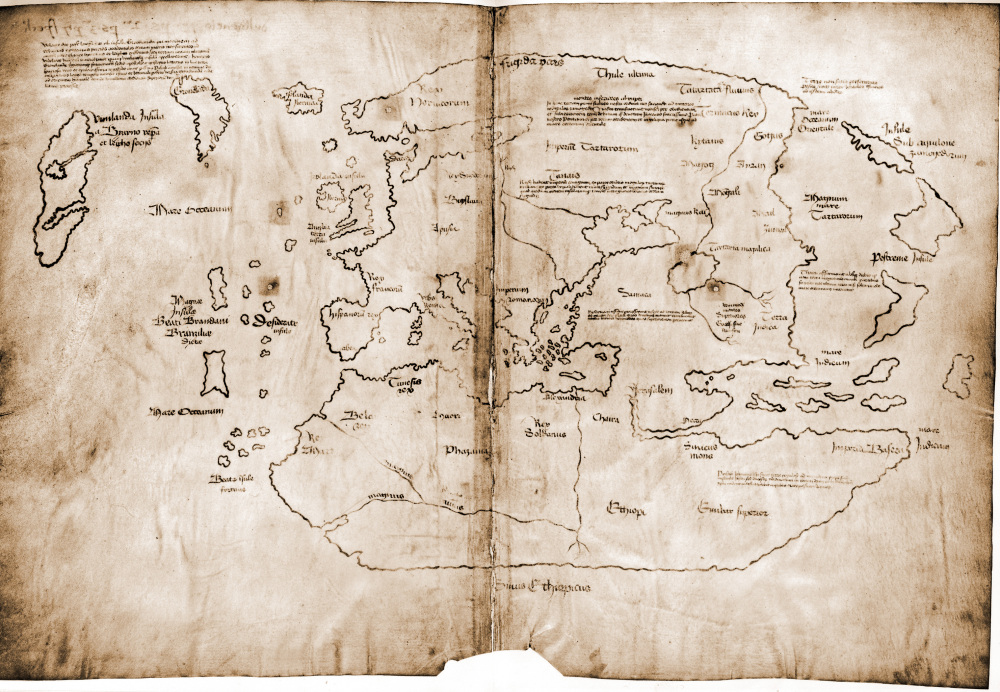 a study on the controversial and mysterious vinland map There's more to a piece of paper than meets the eye - and paper analysis can find it the authenticity of the mysterious vinland map was debated for decades.