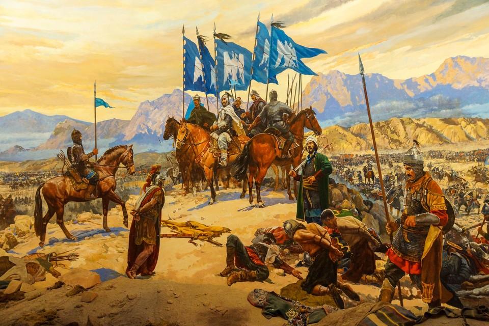 19 августа 1071 года. Сражение при Манцике́рте между турками-сельджуками и Византийской империей. В результате византийские войска потерпели поражение, а император Роман IV Диоген попал в плен