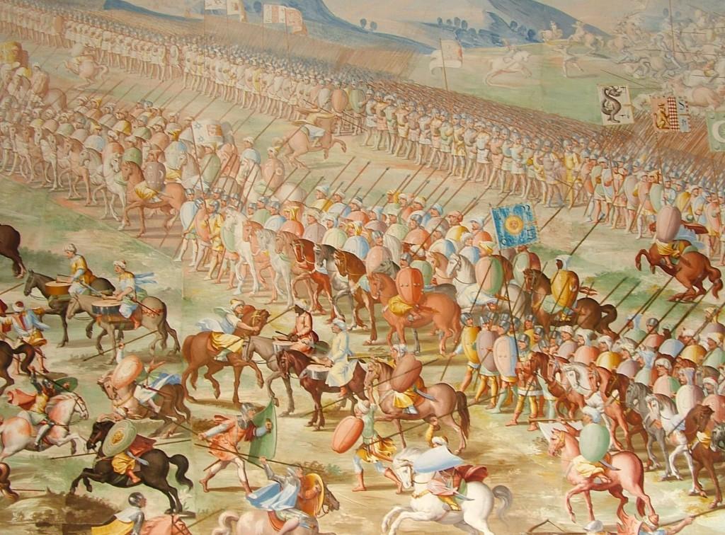 Войска Султана Гранадского Мухаммеда IX в битве при Игеруэлы 1 июля 1431 года