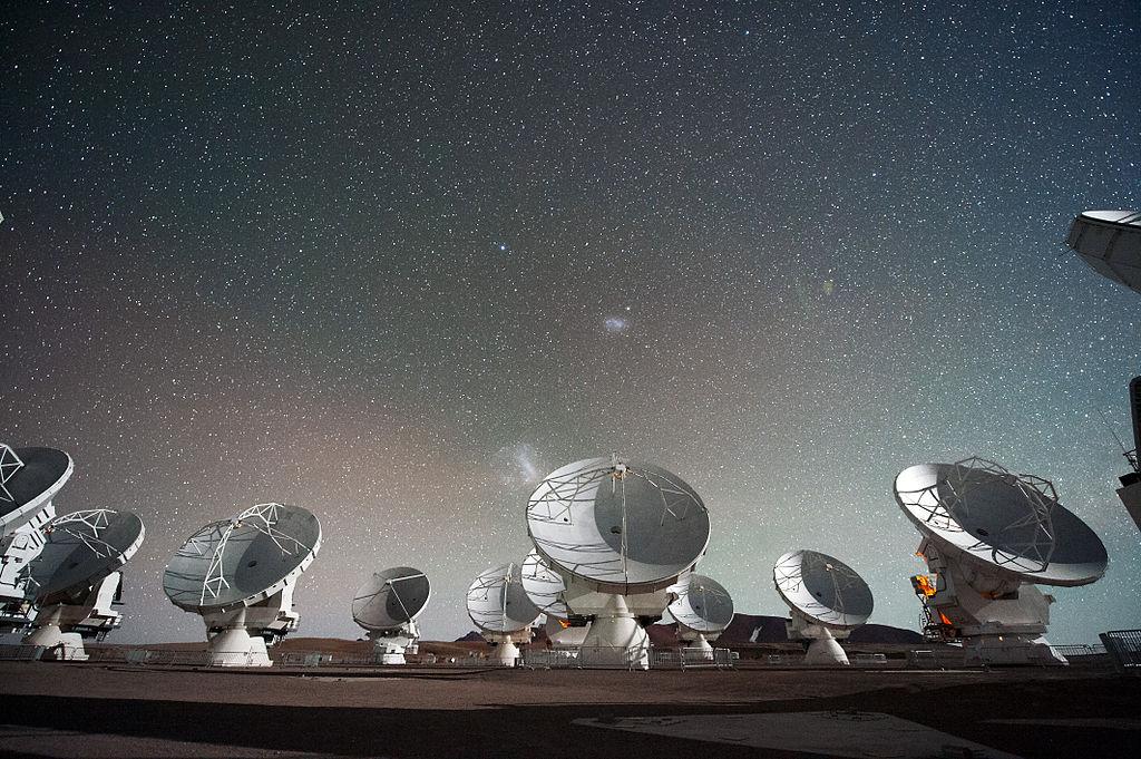 Сеть радиотелескопов в Атакаме