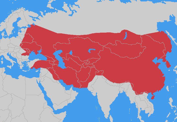Глядя на огромную Монгольскую империю, одолевают сомнения, что потомки Чингис-Хана испугались европейских армий. скорее всего, у монголов были другие причины, чтобы отказаться от завоевания Европы...