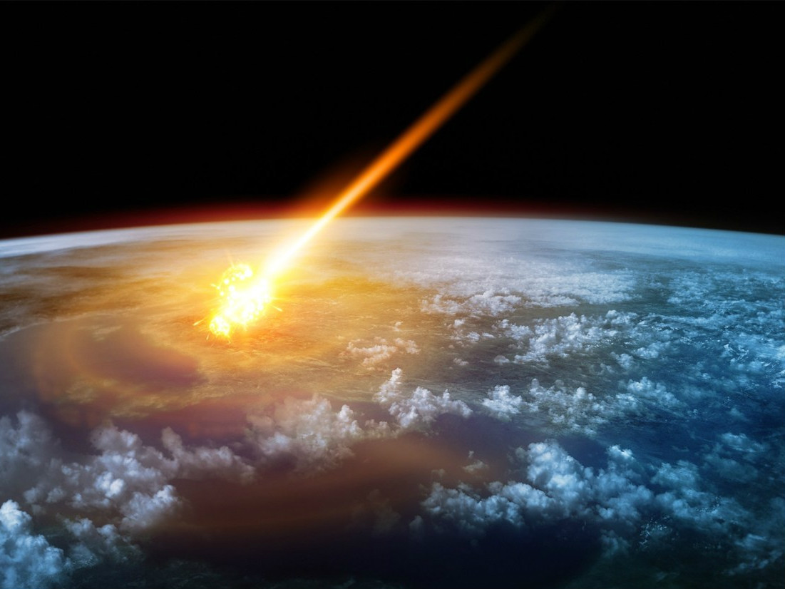 meteorites a threat to civilization