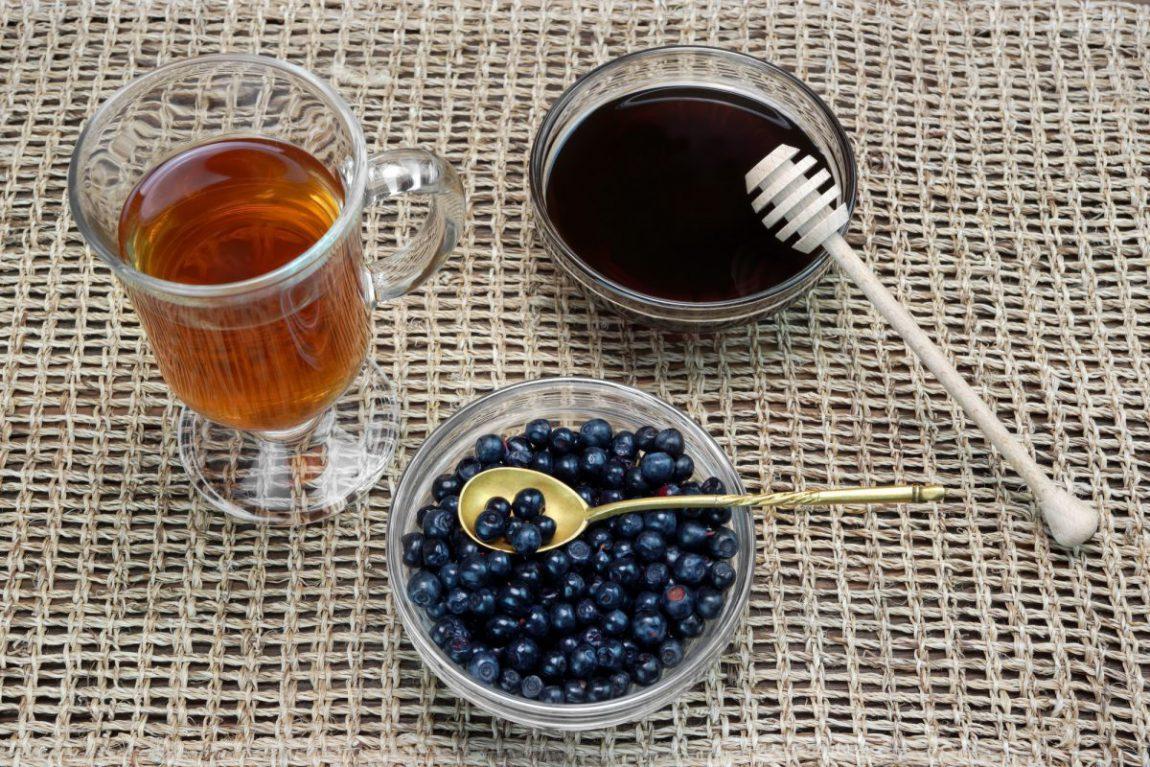 Чай с черникой - польза, как заваривать 97