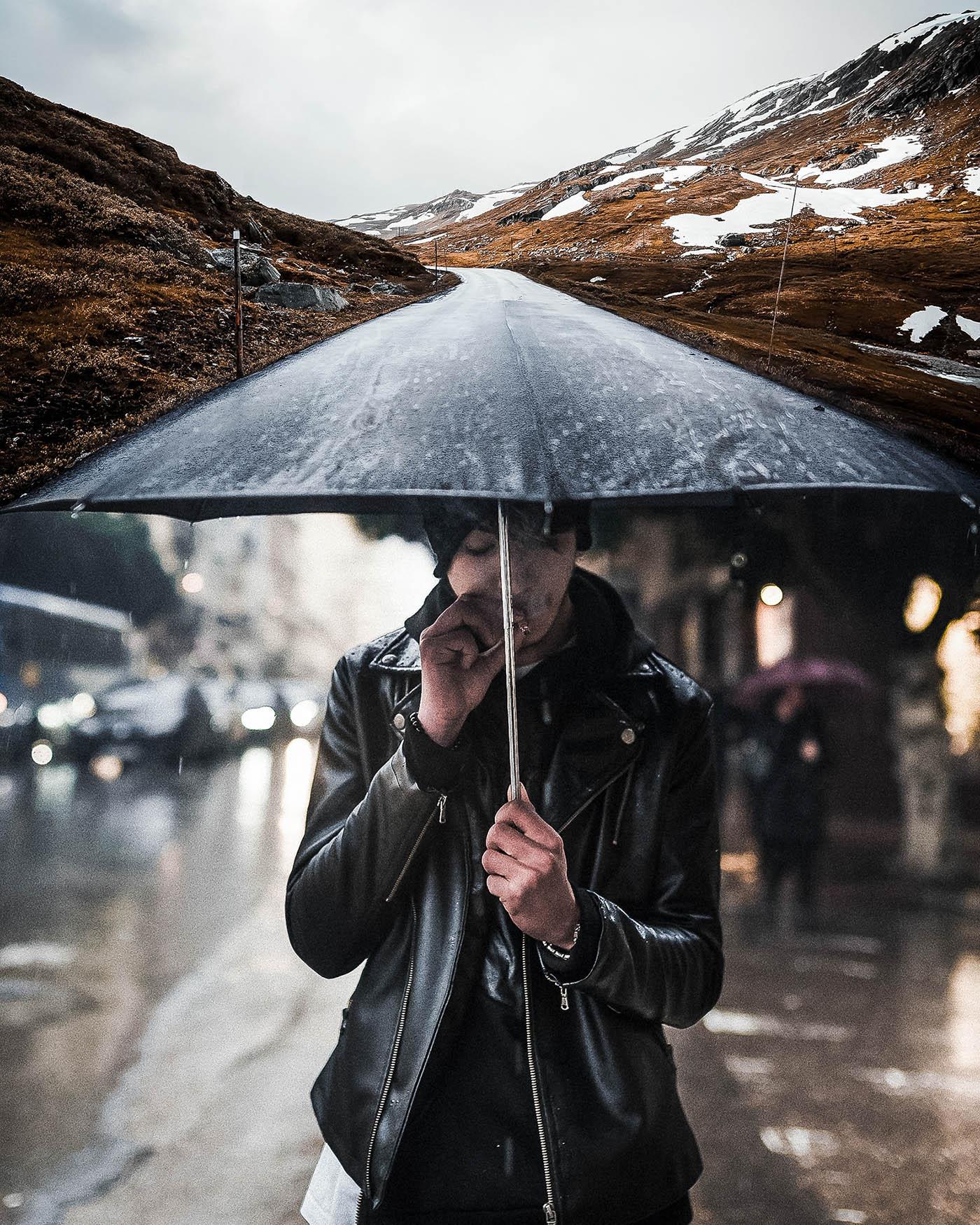 Мастерство комбинированных фотографий от немецкого графического дизайнера