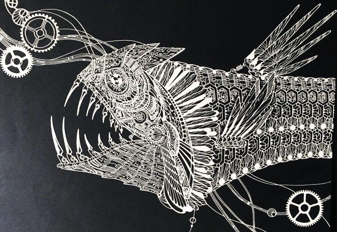 Впечатляюще детализированные бумажные фигуры от японской художницы