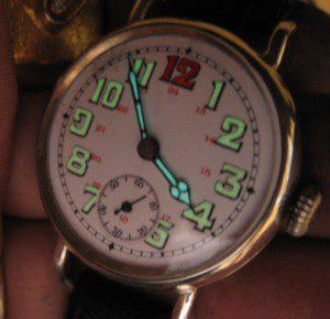 часы с радием