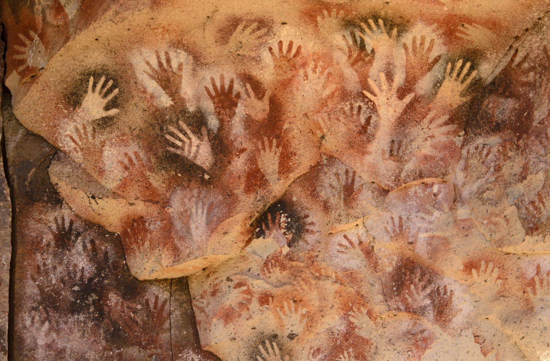 Отпечатки ладоней возрастом 13 000 лет